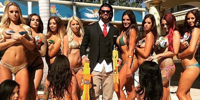 alpha male with hot women